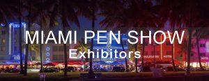 Miami Pen Show 2018 - Bertram's Inkwell Bert Oser