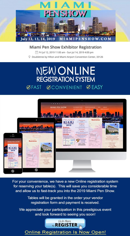 Vendor Register Online