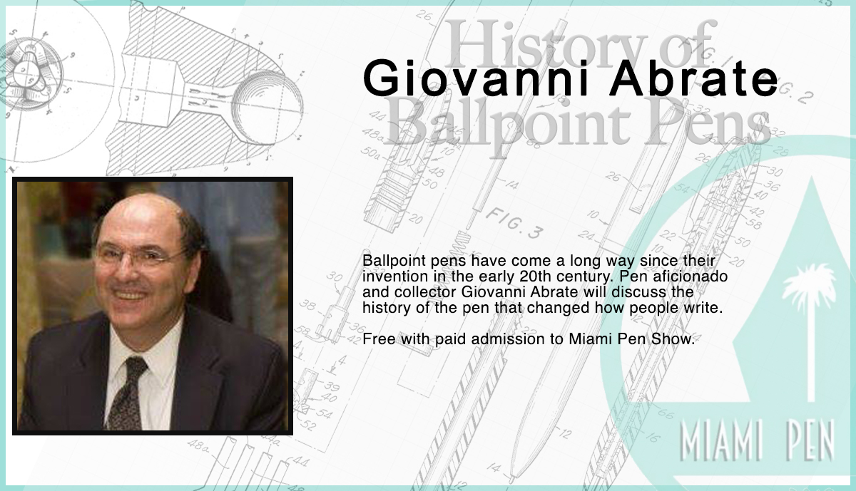 History of Ballpoint Pens with Giovanni Abrate